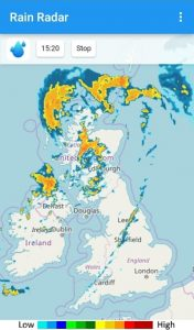 Rain Radar App